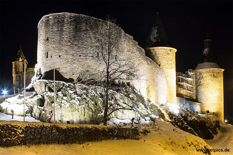 Burg Bourscheid, Luxembourg, 29.12.2014