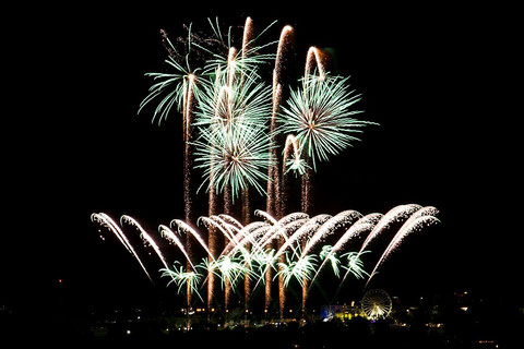 """Int. Feuerwerksfestival Flammende Sterne Ostfildern 2014: 15.08.2014 """"Feuerwerk Dubai"""""""