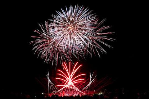 """Int. Feuerwerksfestival Flammende Sterne Ostfildern 2014: 16.08.2014 """"Feuerwerk Costa Rica"""""""
