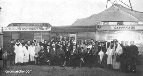 Circus Rebernigg in Deggendorf 1926