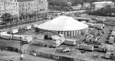 Circus Rebernigg in Wien 1953