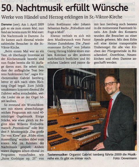 Oldenburgische Volkszeitung, 30.03.2017