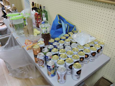 アルコールや飲み物の写真