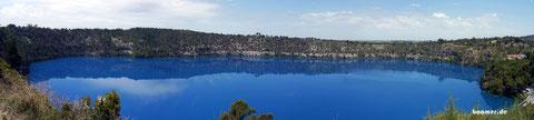 Blue Lake, aber nur in den Sommermonaten