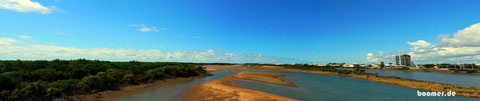 der Pioneer River in Mackay