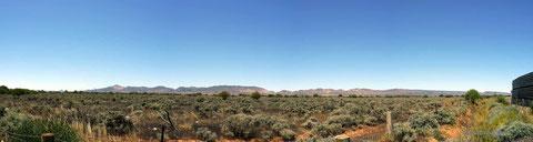Die südlichen Flinders Ranges