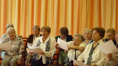 """Restitution le 18 juin 2010 aux """"Orchidées"""", maison de retraite de Villeneuve d'Ascq"""