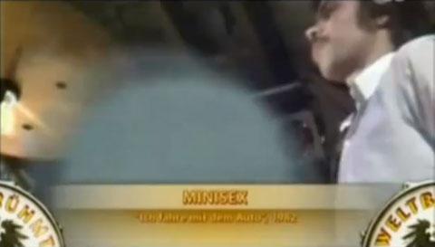 Original-Minisex-Drummer: Michi Pilecky (1982)