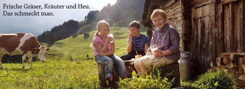 (Bildnachw.: ARGE Heumilch)