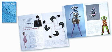 2009 - Textile plus nr 207 - art magazine , the Netherlands