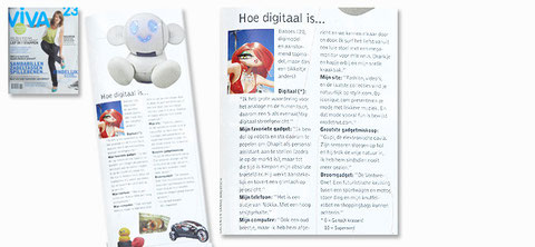 2007 - Viva nr 23 - lifestylemagazine, the Netherlands
