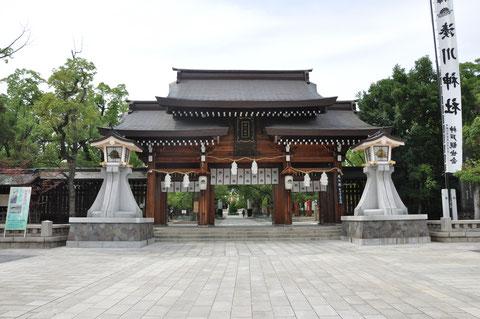 Der Minatogawa Jinja Schrein