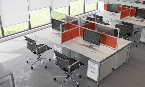 Desk screen