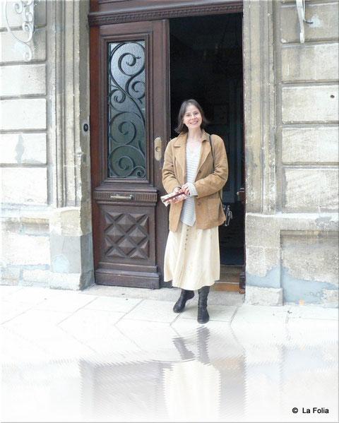 Notre professeur : Cécile Orsini