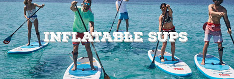 Stand Up Paddle Red paddle