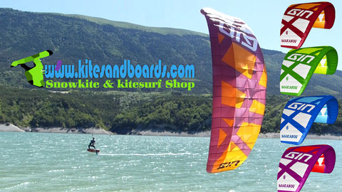 Gin Marabou en test au shop Kitesandboards Grenoble