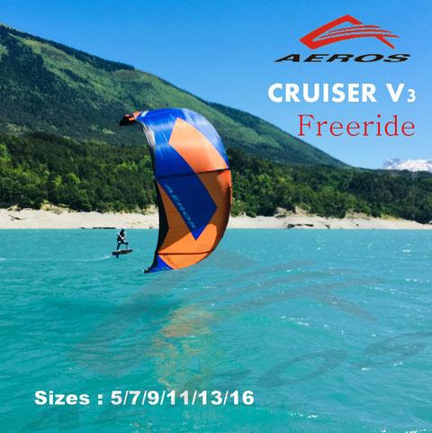 Aeros cruiser 2014 et kitefoil