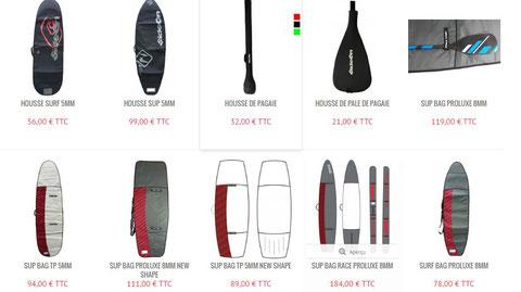 Housses de SUP et Surf