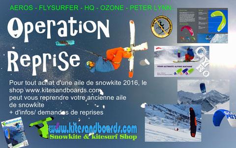 magasin de snowkite