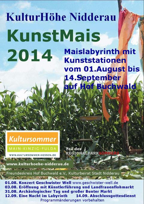 Plakat KunstMais 2014