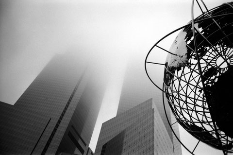 Columbus Circle Fog