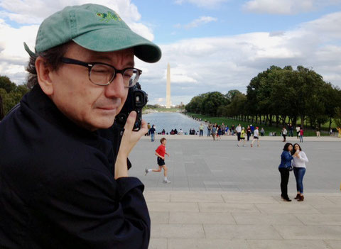 Phil at the Lincoln Memorial