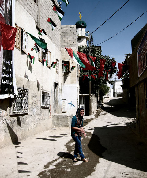 Young Woman in the Dheisheh Palestinian Refugee Camp, June 2009