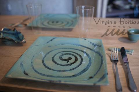 Virginie Boitiau iiiii assiette en porcelaine
