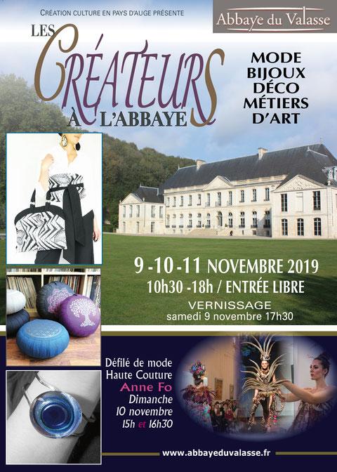 les créateurs à l'abbaye 2019 - abbaye du Valasse