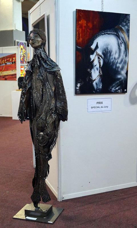 Femme - sculpture Nadine Ledru