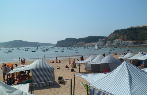 A day at the seaside in Sao Martinho do Porto.