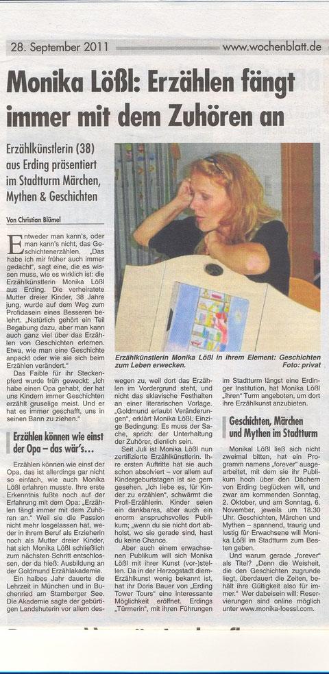 Wochenblatt ED 29.9.11