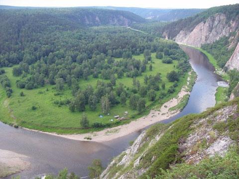 Изгибы реки Белая