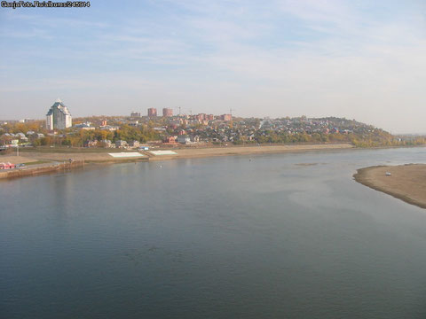 Река Белая в Уфе.