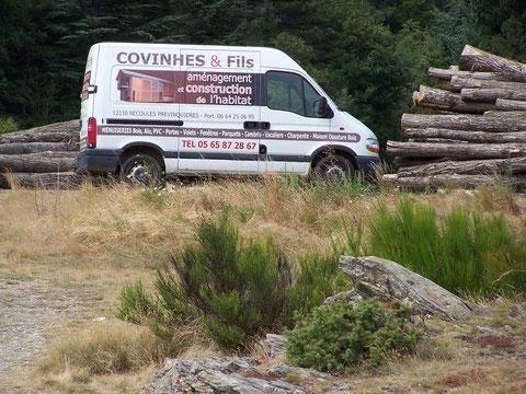 Maison ossature bois aveyron covinhes et fils