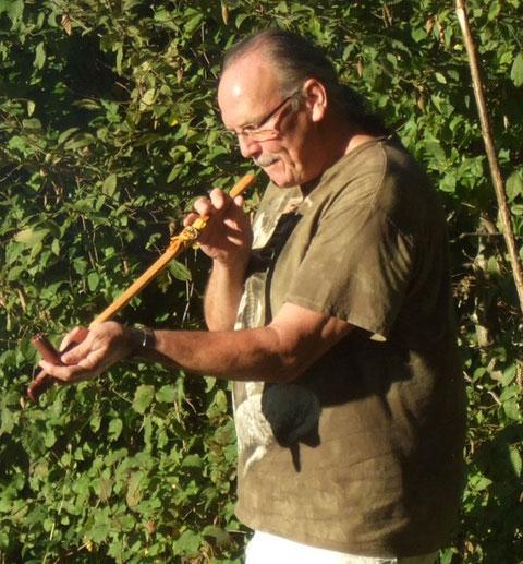 Werny Ulrich, Schamane in Wolhusen - Luzern