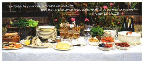 Gastronomie Picardie Amiens Chambre d'hôtes LA SAPINIERE