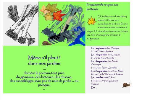 """chambre d'hotes """"la sapinière"""" Amiens Picardie exposition dans mon jardin"""