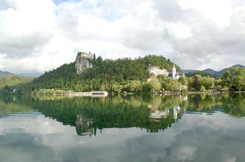 ブレッド湖とブレッド城