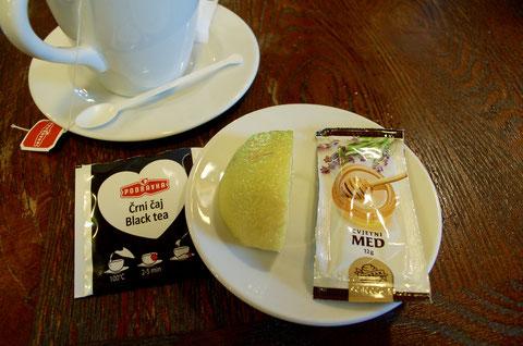 紅茶とレモンと蜂蜜