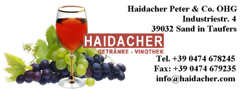 Getränke Haidacher