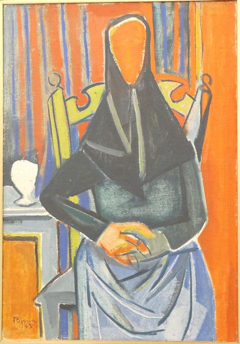 Edouard Pignon : femme assise
