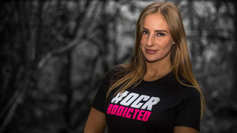 OCR ADDICTED T-Shirt Black Pink Women