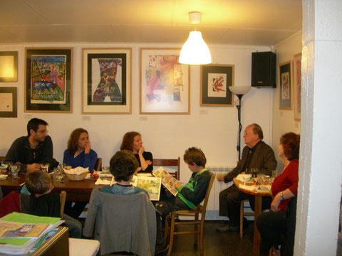 De table à table, les textes de Loïc engendrent le partage
