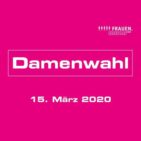 Frauen-Union Kreisverband Fürth Land:  Damenwahl am 15.03.2020