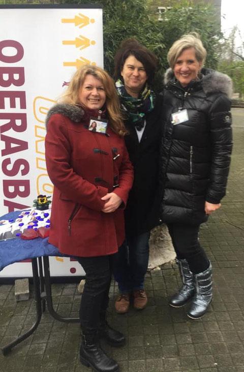 Frauen-Union Oberasbach: Beate Zill, Birgit Huber und Doris Bauer