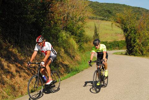 Rennradurlaub in der Toskana - geführte Touren dorthin, wohin nur Insider kommen!