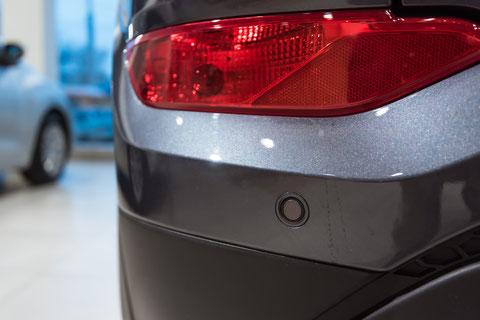 Une mauvaise réparation de la peinture peut perturber les signaux émis par les capteurs.