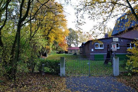 Herbststimmung am Bootshaus