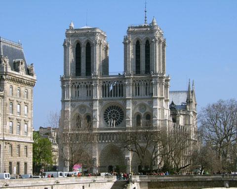 Собор Парижской Богоматери (Нотр-Дам де Пари.)